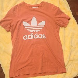 Adidas Coral Size Large Graphic Tee